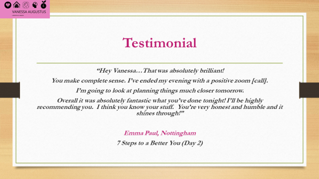 Testimonial - Emma